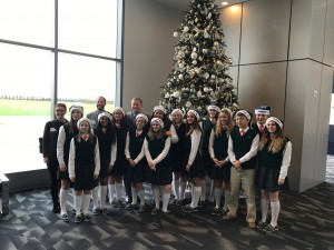NCTA Choir Sings for the Dallas Cowboys
